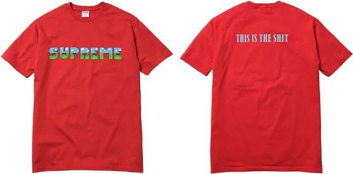 SUPREME 2016 SUMMER TEES COLLECTIONが7/2発売! (シュプリーム サマー Tシャツ)
