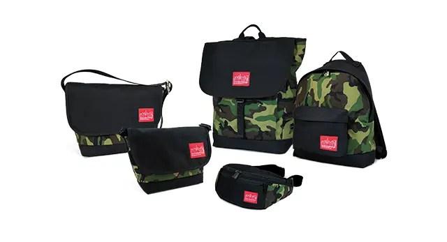 Manhattan PortageからWoodland Camouflage × Blackのシーズン限定カラーが7/9発売! (マンハッタンポーテージ)