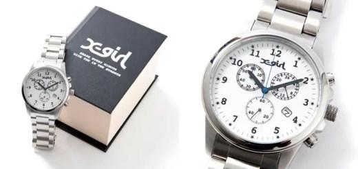 CITIZEN for X-girl 第2弾が8月中旬発売!「女の子が大きめの時計をつけるスタイル提案」がコンセプト! (シチズン エックスガール)