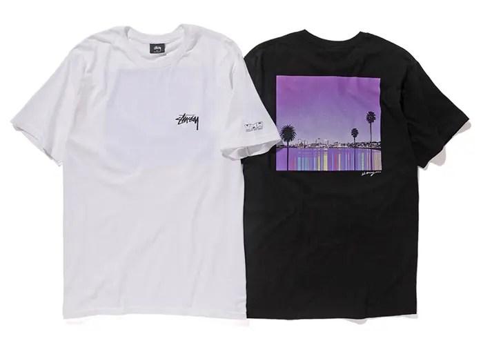 YARIGASAKI MOST WANTED 開催記念!紫色に染まるウォーターフロントの景観が夏の訪れを告げる STUSSY YMW 16 TEEが7/15発売! (ステューシー)