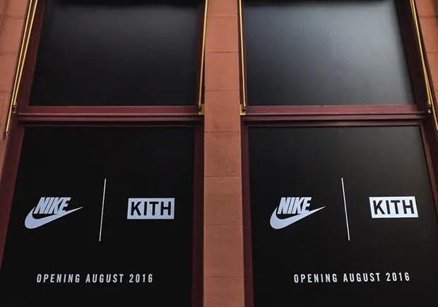 2016年8月オープン!KITH × NIKE SHOP in NY (キース ナイキ)