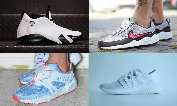 "【まとめ】7/15発売の厳選スニーカー!(NIKE AIR JORDAN 14 ""OXIDIZED GREEN"")(NIKELAB AIR ZOOM SPIRIDON)(adidas Originals for MAISON DE REEFUR"" TUBULAR VIRAL)他"