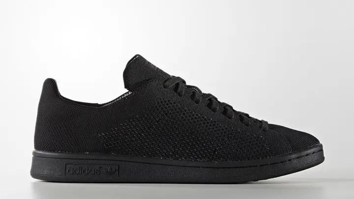 """トリプルブラックのアディダス オリジナルス スタンスミス プライムニット OGが海外展開! (adidas Originals STAN SMITH OG PRIMEKNIT """"Triple Black"""") [S80065]"""