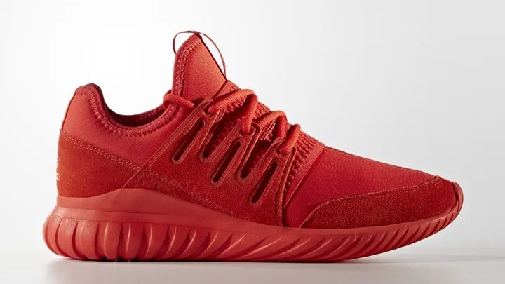 """海外展開!トリプルブラック/レッドのアディダス オリジナルス チュブラー ラジアル (adidas Originals TUBULAR RADIAL """"Triple Black/Red"""") [S80115,6]"""