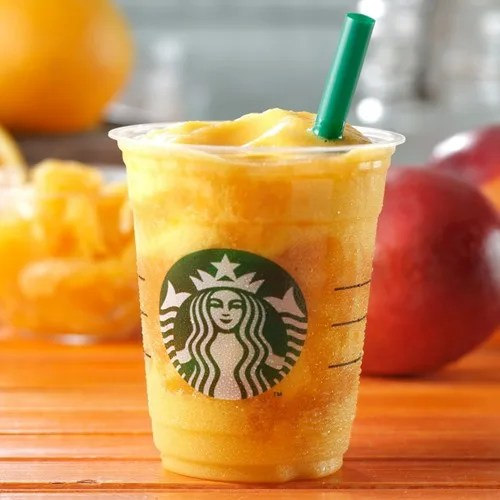 スタバからオレンジ果肉とマンゴーがミックスされたフラペチーノ「マンゴー オレンジ フラペチーノ」が8/10から発売! (STARBUCKS スターバックス)