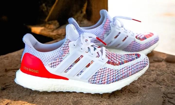 """【国内8/16発売】アディダス ウルトラ ブースト """"ホワイト/レッド"""" (adidas ULTRA BOOST """"White/White-Red"""") [BB3911]"""