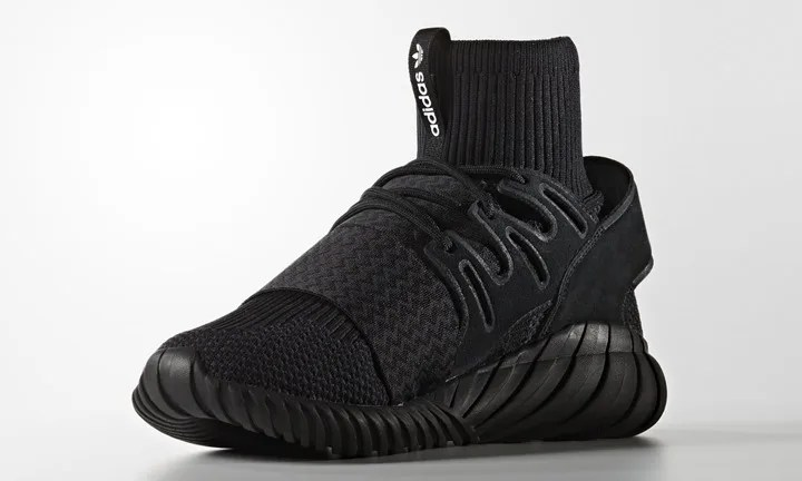 """9/9発売!adidas Originals TUBULAR DOOM PRIMEKNIT {PK} """"Triple Black"""" (アディダス オリジナルス チュブラー ドゥーム プライムニット """"トリプル ブラック"""") [S80508]"""