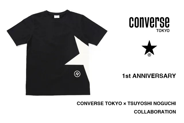 CONVERSE TOKYO 1周年記念!CONVERSE TOKYO × TSUYOSHI NOGUCHI コラボTEEが9/10から発売! (コンバース 野口強)