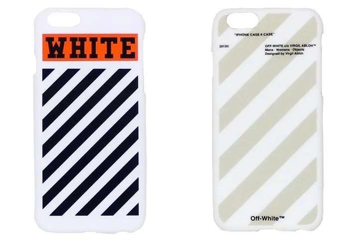 OFF-WHITE C/O VIRGIL ABLOH iPhone 6 CASEが発売! (オフホワイト)