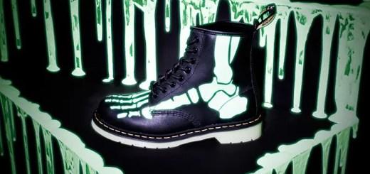 Dr.Martensからハロウィン仕様の骨が光るブーツが10/7発売! (ドクターマーチン)