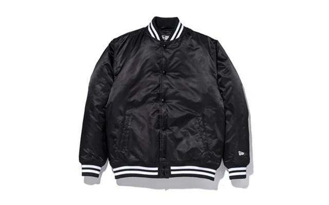New Eraから1980~90年代に流行したサテンジャケットを現代的にアップデートした「Nylon Varsity Jacket」が発売! (ニューエラ ナイロン バーシティ ジャケット)