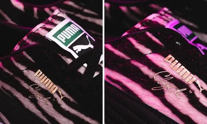 """チーター & ゼブラ パターンのプーマ クライドが海外展開! (PUMA CLYDE """"Animal Pack"""" Cheetah/Zebra)"""