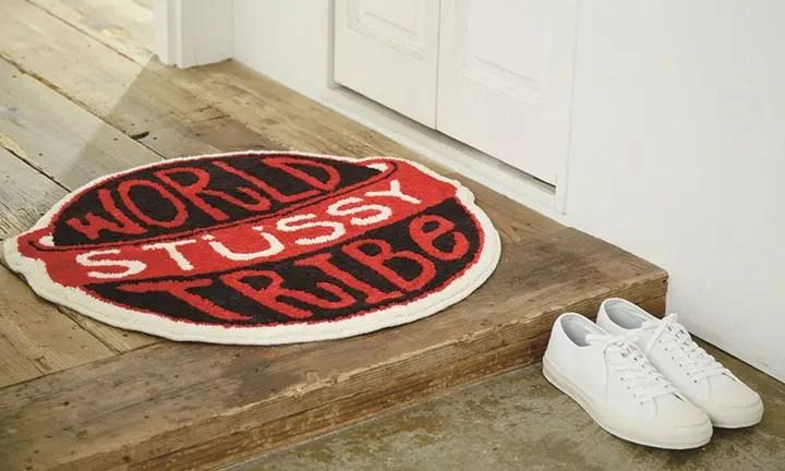 """【受注生産】STUSSY × Gallery 1950 """"WORLD TRIBE RUG MAT""""が10/14~受注開始! (ステューシー ギャラリー 1950 G1950 """"ワールド トライブ ラグ マット"""")"""