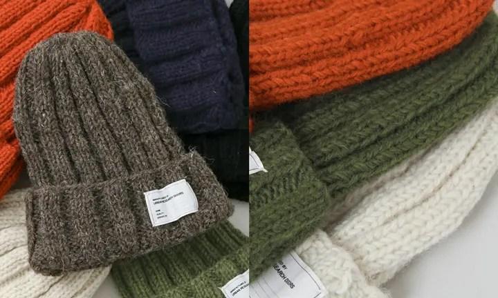 URBAN RESEARCH DOORSからウール100%のネパール製のRIB Knit Capが展開中! (アーバンリサーチドアーズ リブ ニット キャップ)