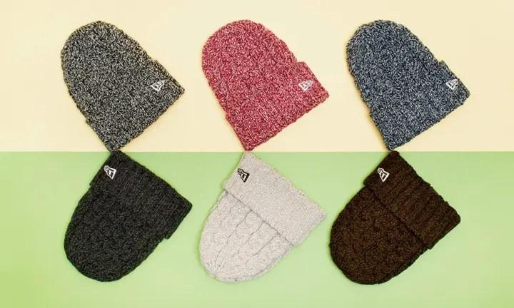 New Eraから保温性/耐久性バツグンの杢調 Low Gauge Cuff Knitが発売! (ニューエラ)