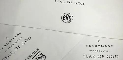 11/26発売!FEAR OF GOD × READYMADE LIMITED COLLECTION!UA & SONSにて11/19から展示! (フィア オブ ゴッド レディーメイド)