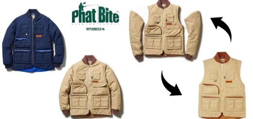 INTERBREEDからベストにもなるPHAT BITE 2Way Jacketが12/3発売! (インターブリード)