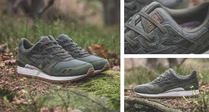 """12/17発売!SNS × アシックス タイガー ゲルライト 3 & 5 """"フォレスト パック""""  (Sneakersnstuff × ASICS TIGER GEL-LYTE III & V """"Forest Pack"""") [H72UQ-5858,8484]"""