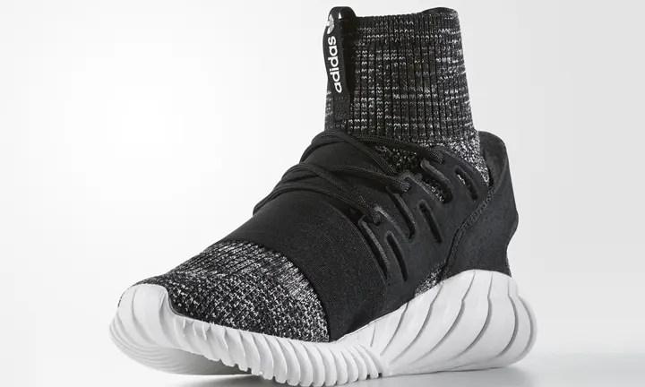 """4/8発売!adidas Originals TUBULAR DOOM PRIMEKNIT {PK} """"Core Black/Granite"""" (アディダス オリジナルス チュブラー ドゥーム プライムニット """"コア ブラック/グラニト"""") [BB2392]"""