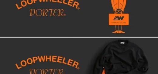 今度はブラックカラー!LOOPWHEELER × PORTER コラボアイテムがクラチカ ヨシダ 表参道限定で1/13から発売! (ループウィラー ポーター)