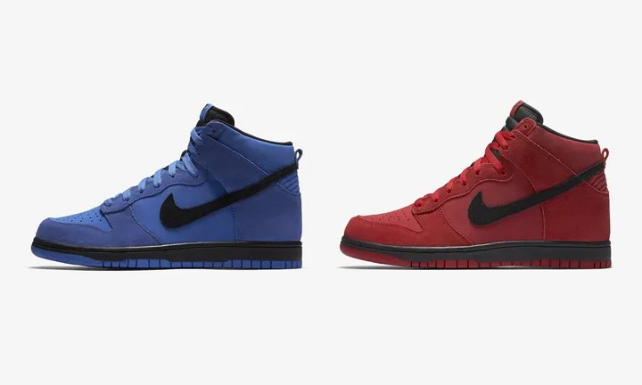 "NIKE DUNK HIGH ""Blue/Red"" (ナイキ ダンク ハイ ""ブルー/レッド"") [904233-401,600]"