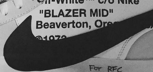 【真偽不明リーク】OFF-WHITE c/o VIRGIL ABLOH × NIKE BLAZER MID (オフホワイト ナイキ ブレーザー ミッド)