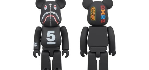 A BATHING APE x Dover Street Market Ginza 5th SHARK 100% BE@RBRICK (ア ベイシング エイプ ドーバーストリートマーケット ベアブリック)