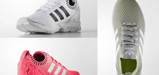 アディダス オリジナルス フラックス プライムニット 3カラー (adidas Originals ZX FLUX PRIMEKNIT {PK}) [BA7374,5,6]