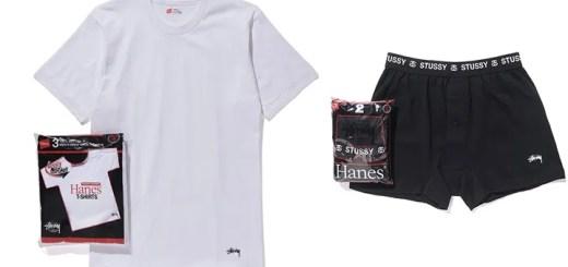 STUSSY × HANES パックシリーズがラインナップ (ステューシー ヘインズ)