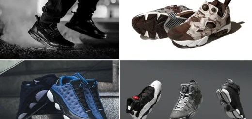 "【まとめ】4/8発売の厳選スニーカー!(HAVEN × adidas Consortium ULTRA BOOST)(NIKE AIR JORDAN 13 LOW ""Brave Blue"")(JORDAN SIX RINGS RETRO 2017)(BEAMS REEBOK INSTA PUMP FURY ""DEZERT CAMO CRAZY"")他"