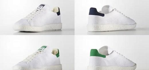 4月発売!adidas Originals STAN SMITH BOOST PRIMEKNIT {PK} 2カラー (アディダス オリジナルス スタンスミス ブースト プライムニット) [BB0012,0013]