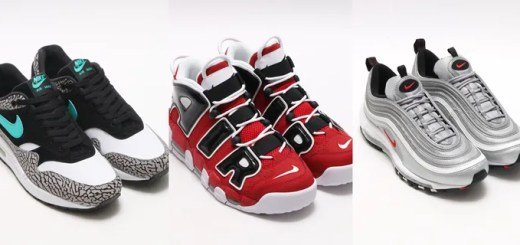 "「ATMOS MEETS BARNEYS NEW YORK」にてNIKE AIR MAX 1 PREMIUM RETRO ""atmos Elephant""/AIR MORE UPTEMPO/AIR MAX 97 OG QSが4/23抽選販売!"