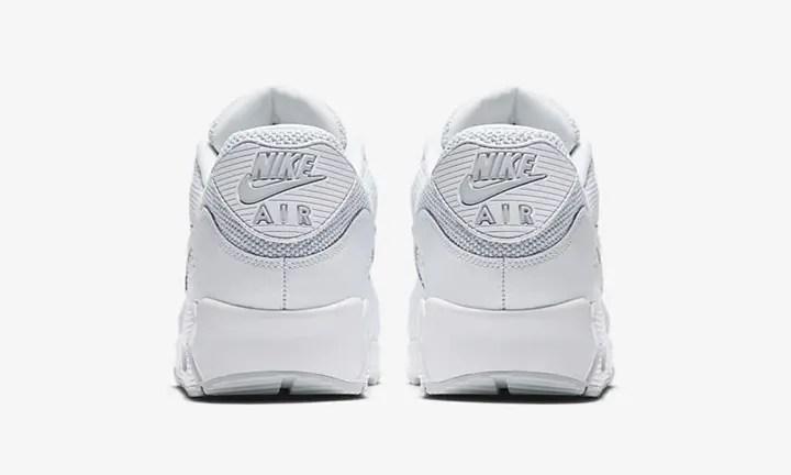 """ナイキ エア マックス 90 エッセンシャル """"ホワイト/ピュア プラチナ"""" (NIKE AIR MAX 90 ESSENTIAL """"White/Pure Platinum"""") [537384-134]"""