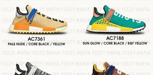 """【リーク】11/11発売予定!Pharrell Williams x adidas Originals NMD_R1 """"HUMAN RACE"""" 4モデル (ファレル・ウィリアムス アディダス オリジナルス エヌ エム ディー アール ワン """"ヒューマン レース"""") [AC7188,7359,7360,7361]"""