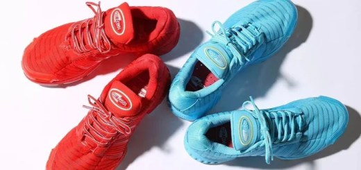 "atmos/adidas 限定!アディダス オリジナルス クライマクール 1 CMF 2カラー (adidas Originals CLIMACOOL 1 CMF ""Blue/Red"") [BA7171,7173]"