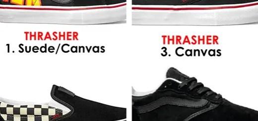 2017年7月発売!THRASHER × VANS コラボ Sk8-Hi PRO/Slip-On PRO/URTRARANGE PRO (スラッシャー バンズ)