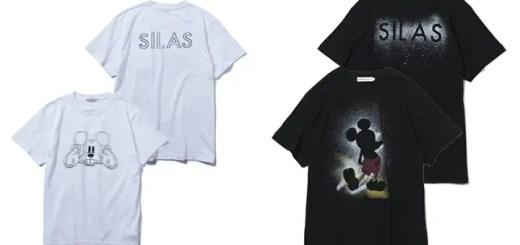 SILASからディズニー ミッキーマウスとのコラボ S/S プリントTEE 2型が6月下旬発売! (サイラス Disney MICKEY MOUSE)