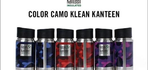A BATHING APE × KLEAN KANTEEN ステンレスボディにオリジナルカモ柄のCOLOR CAMOをプリントしたスペシャルバージョンが5/27から発売!(エイプ)