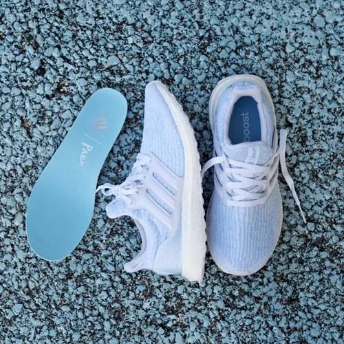 """7月発売予定!Parley for the Oceans × adidas ULTRA BOOST """"Ice Blue"""" (パーレイ・フォー・ジ・オーシャンズ アディダス ウルトラ ブースト """"アイス ブルー"""")"""