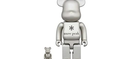 Snow Peak × BE@RBRICK コラボモデルが6/3発売 (スノーピーク ベアブリック)
