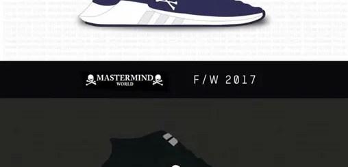 mastermind WORLD × adidas Originals EQT SUPPORT 93/17 (マスターマインド ワールド アディダス オリジナルス エキップメント サポート 93/17)