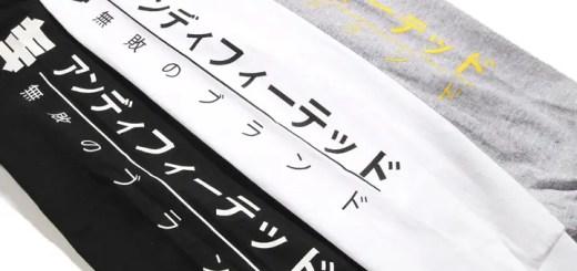 ブランドをカタカナで表現したUNDEFEATED MUTEKI L/SL TEE (アンディフィーテッド ムテキ ロングスリーブ TEE)