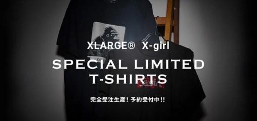 X-large/X-girlのロゴをラインストーンで表現した完全受注生産リミテッドTEE!予約がスタート (エクストララージ エックスガール)