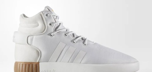 "adidas Originals TUBULAR INVADER STRAP ""White/Gum"" (アディダス オリジナルス チュブラー インベーダー ストラップ ""ホワイト/ガム"") [BY3627]"