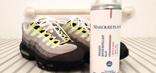 【PR レビュー】MARQUEE PLAYER (マーキープレイヤー) 防水スプレー 「SNEAKER WATER REPELLENT No.01 420ml」