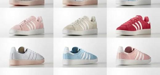 6/15発売!adidas Originals WMNS CAMPUS 6カラー (アディダス オリジナルス ウィメンズ キャンパス) [BY9844,9845,9846,9847,9838,9839]