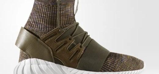 "adidas Originals TUBULAR DOOM PRIMEKNIT {PK} ""Kahki"" (アディダス オリジナルス チュブラー ドゥーム プライムニット ""カーキ"") [BY3551]"