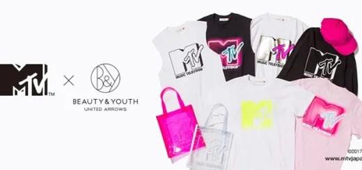 MTV for BEAUTY&YOUTH 別注コレクションが登場 (エムティービー ビューティアンドユース)