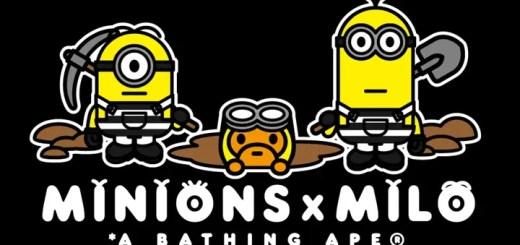 【続報】A BATHING APE x Minions コラボが7/22発売 (ア ベイシング エイプ ミニオンズ)