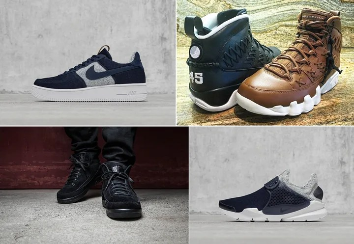 "【まとめ】7/16発売の厳選スニーカー!(LOOPWHEELER × NIKELAB AIR FORCE 1 ULTRAFORCE/SOCK DART)(AIR JORDAN 9 PINNACLE ""Baseball Glove"")(AIR JORDAN 2 RETRO DECON)"